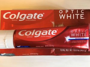 クレスト・コルゲート歯磨き